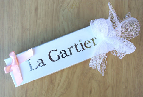La Gartier Wedding Garters Box