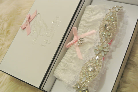 garter belt with bling