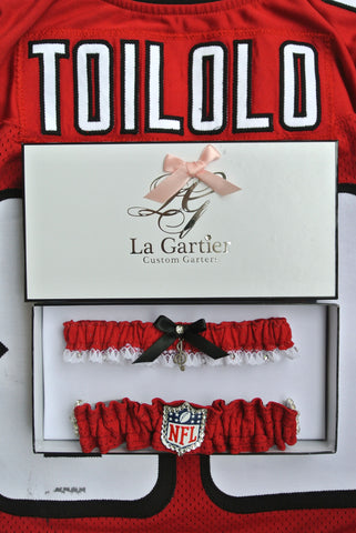NFL Wedding Garter Atlanta Falcons