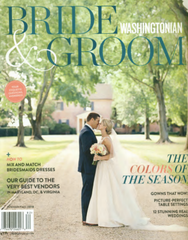 Washingtonian Bride and Groom Summer 2018