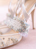 The Glass Slipper Garter