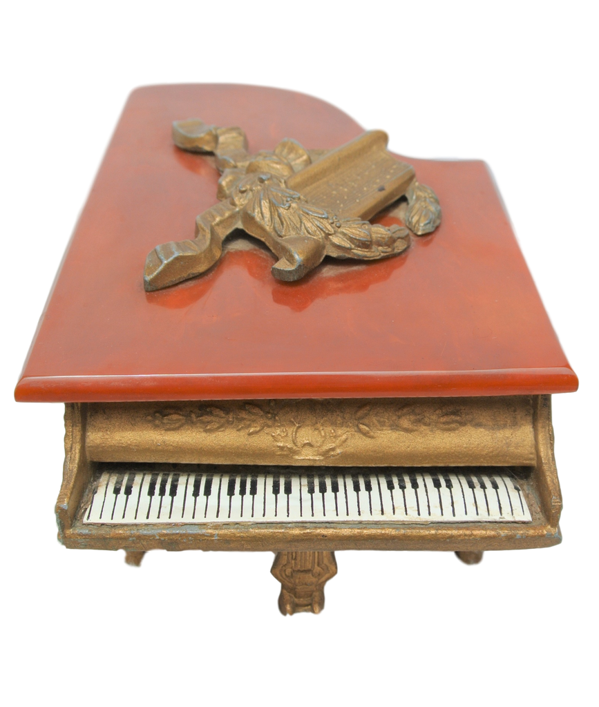 Antique Piano Music Box