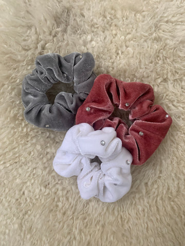 Sparkle Scrunchies- Pack of Three