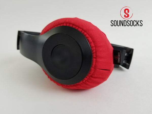 Red SoundSocks Protective Headphone Covers