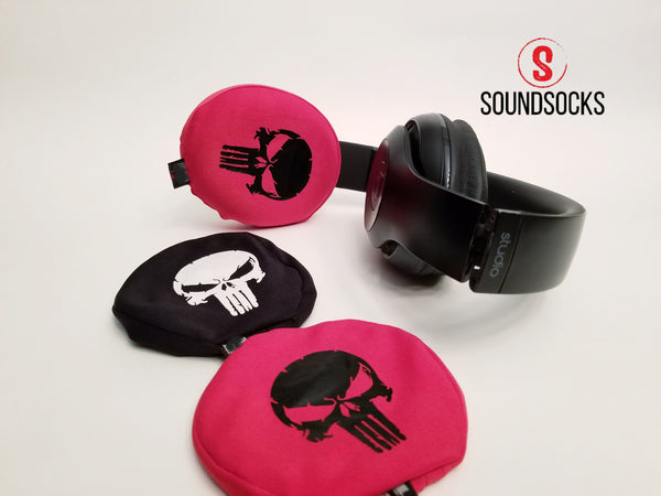 SoundSocks Protective Headphone Covers Skull Collection