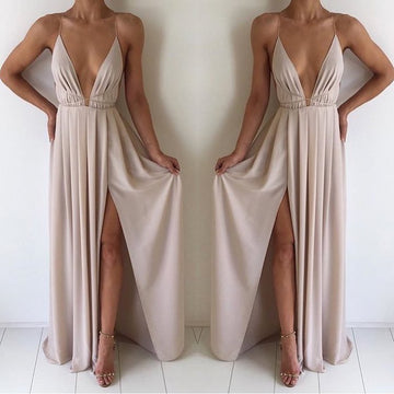 Natalie Rolt Blossom Gown- Nude