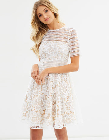 Cooper Street Alessandra Lace Dress- (Ex Rental)