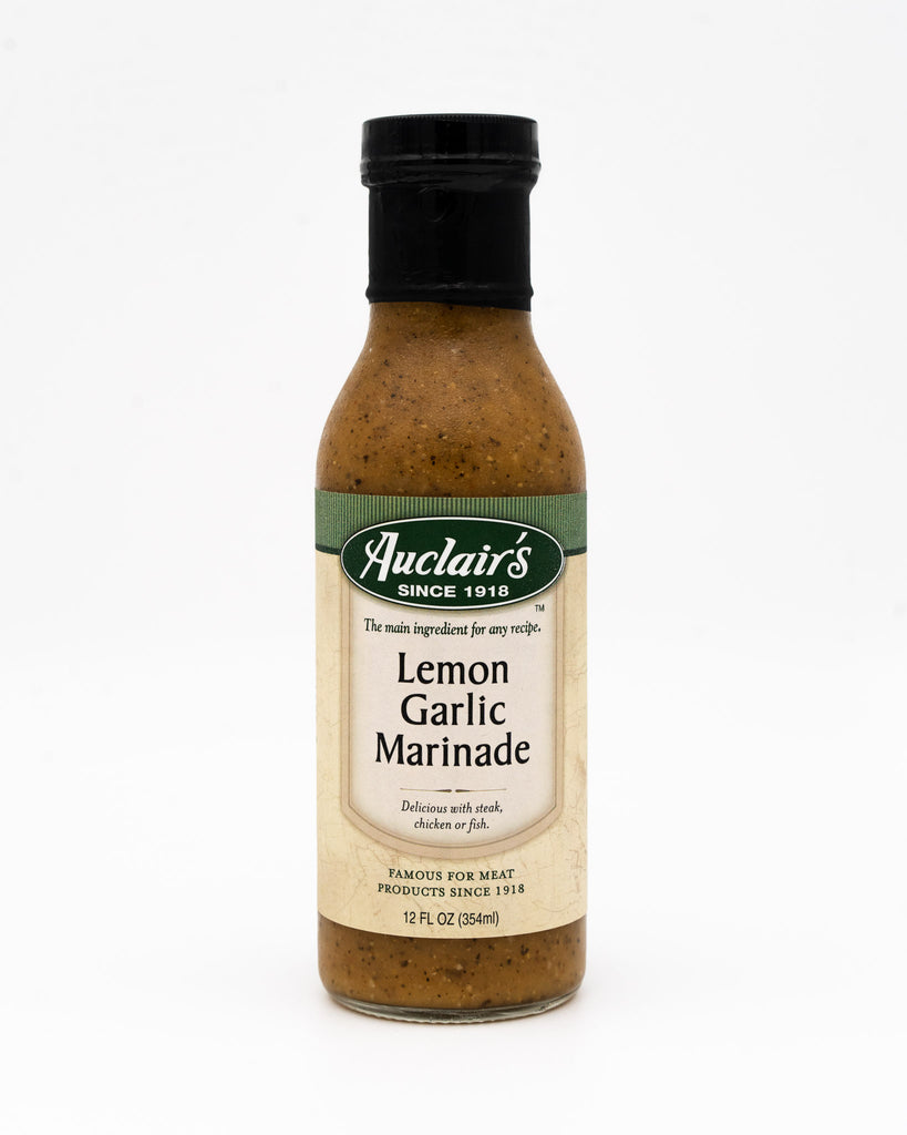 Auclair's Lemon Garlic Marinade, 12oz