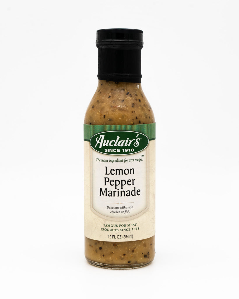 Auclair's Lemon Pepper Marinade, 12oz