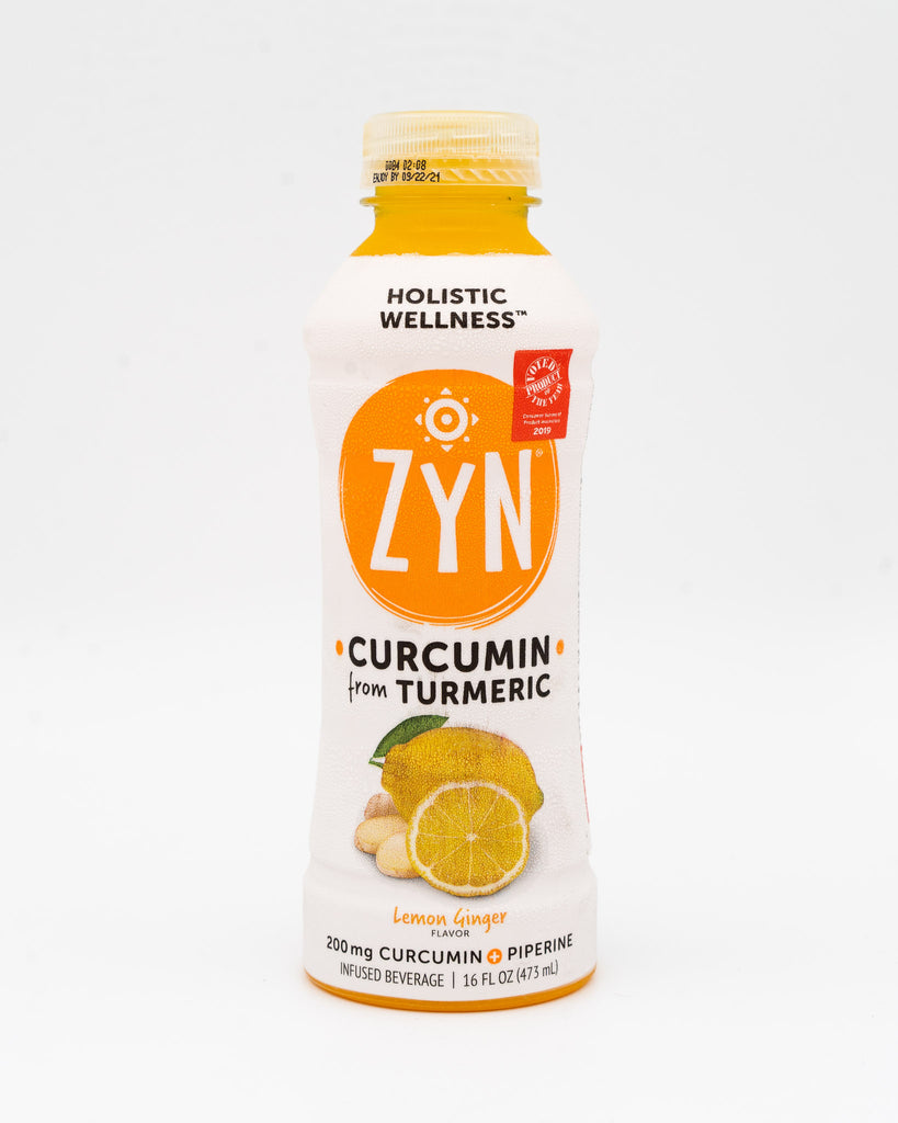 Zyn, Holistic Wellness, Curcumin from Tumeric, Lemon Ginger 16oz