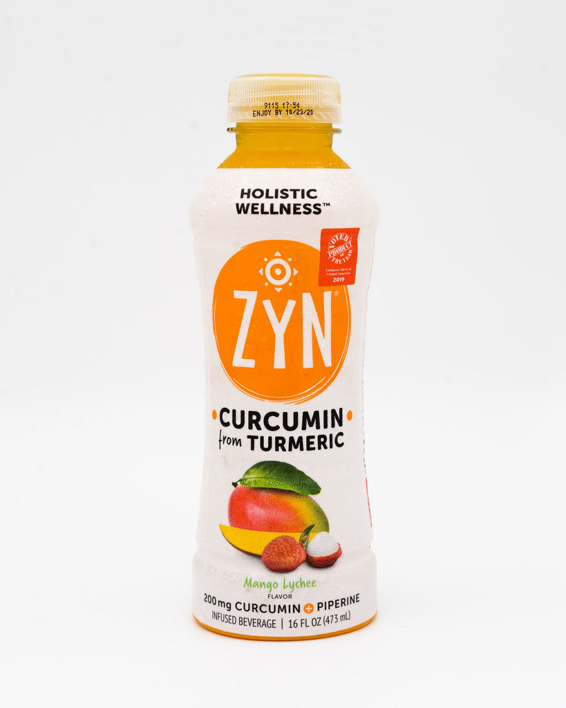 Zyn, Holistic Wellness, Curcumin from Tumeric, Mango Lychee, 16oz