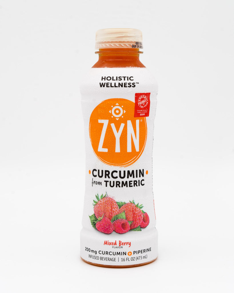 Zyn, Holistic Wellness, Curcumin from Tumeric, Mixed Berry, 16oz