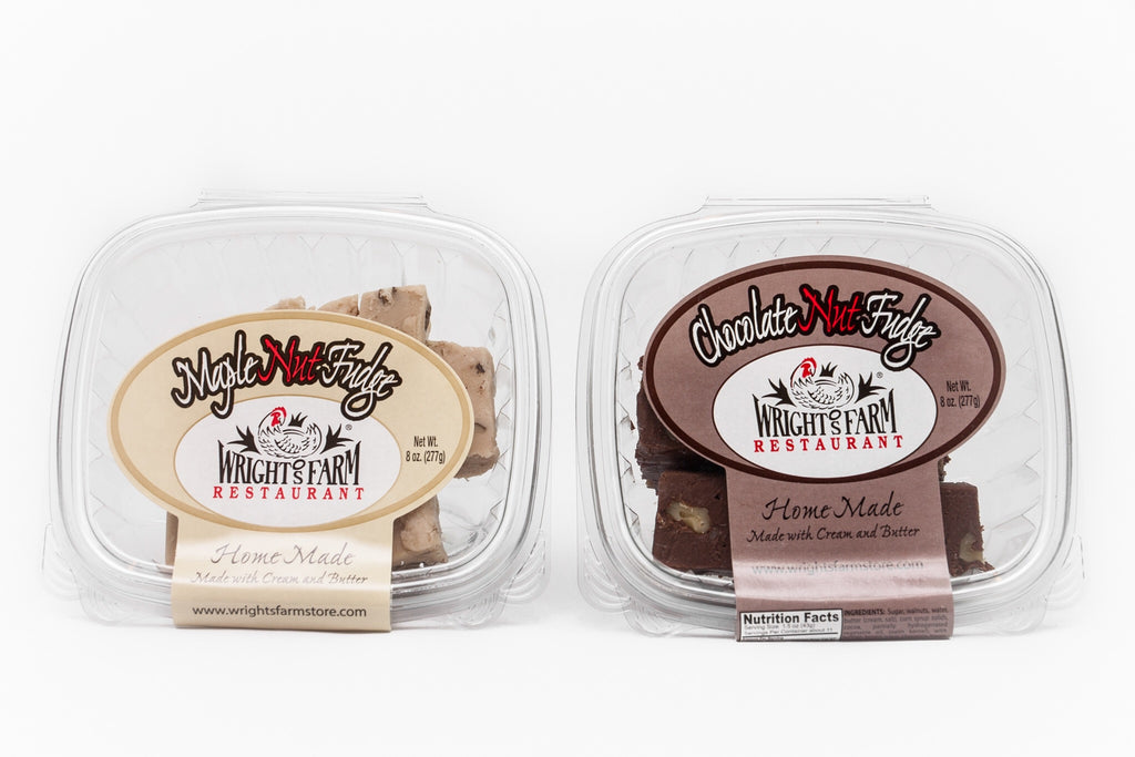Wright's Homemade Fudge - Pick Two (Shipping Included)