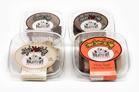 Wright's Homemade Fudge - Pick Four (Shipping Included)