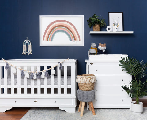 Nursery Packages with a Contemporary Cot