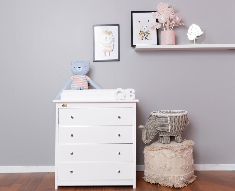 4 Drawer Chest + Change Table Top
