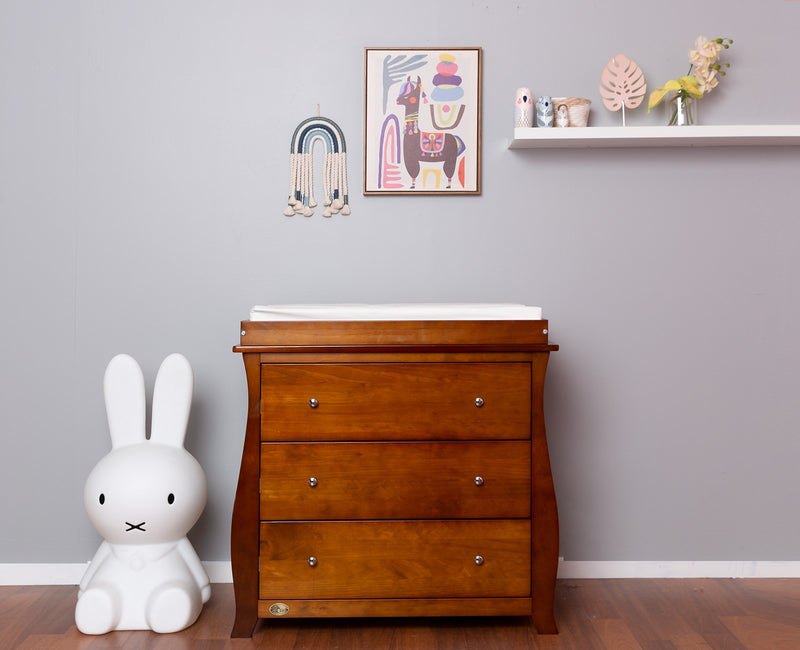 Regal 3 Drawer Chest & Change Table Top