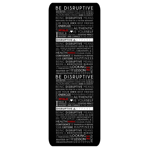 Be Disruptive Yoga Mat