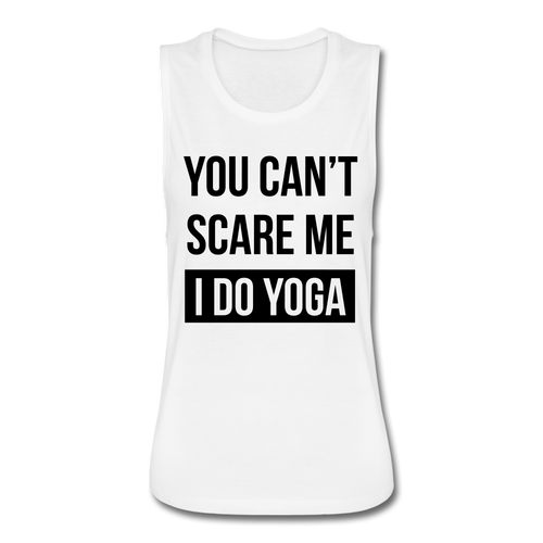I DO YOGA Women's Flowy Muscle Tank