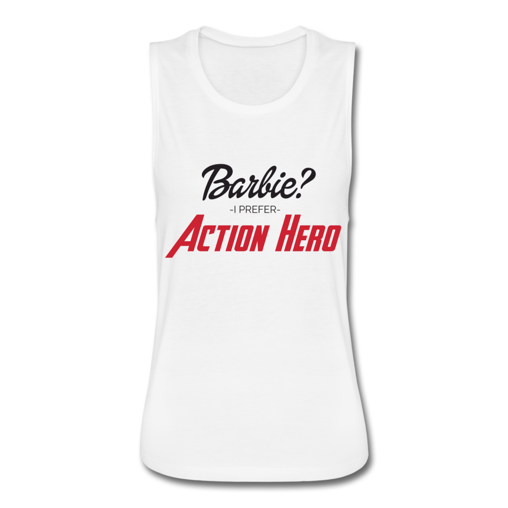 Action Hero Women's Flowy Muscle Tank