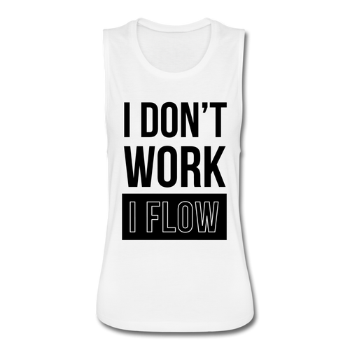 """WorkFLOW"" Women's Flowy Muscle Tank"