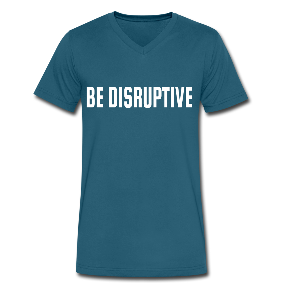 "BE DISRUPTIVE"" Unisex V-Neck"