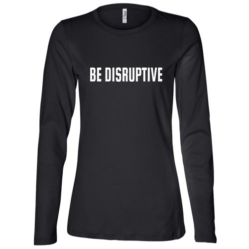 Be Disruptive Ladies' Jersey Long Sleeve