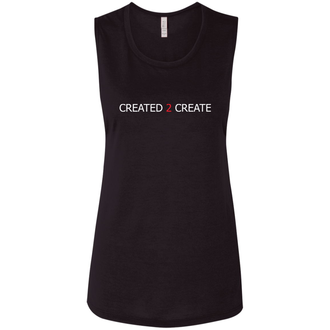 Created 2 Create Ladies' Flowy Muscle Tank