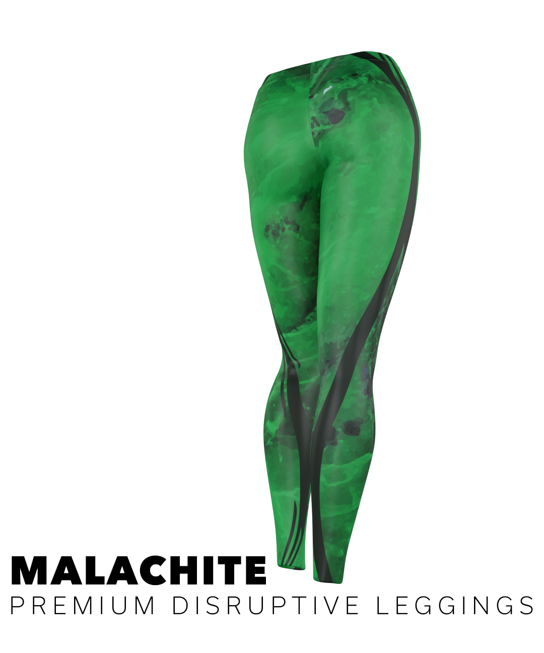 #MALACHITE PREMIUM DISRUPTIVE LEGGINGS