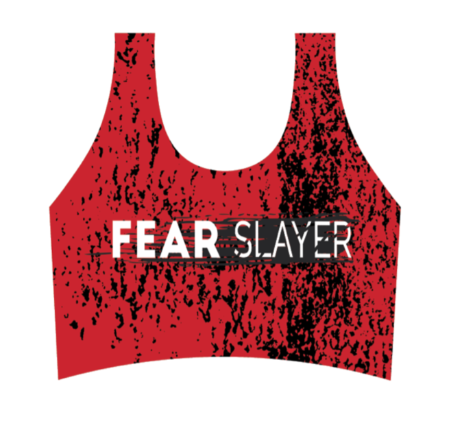 FEAR SLAYER Crop Tank