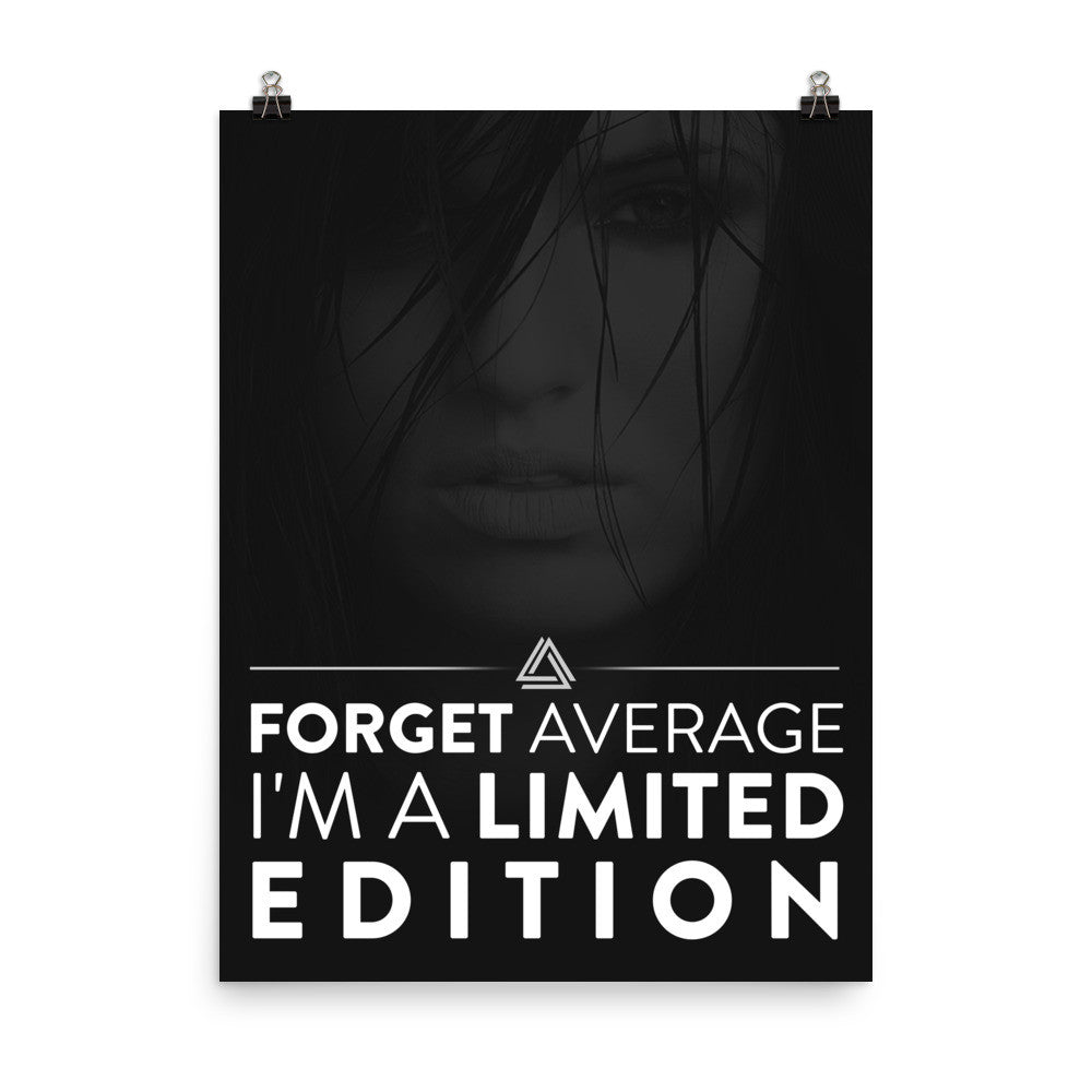 """Forget Average""  Disruptive Poster"