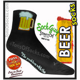 SockGuy Beer Mug Performance Socks