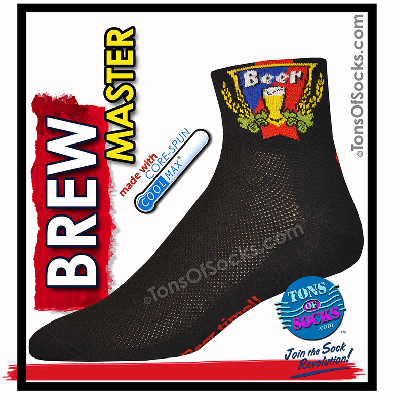 CoolMax® Brew Master Performance Socks