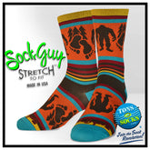 SockGuy Big Footin' Performance Crew Socks
