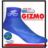 Gizmo CoolMax® Bike Rider Performance Socks (blue)