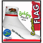 SockGuy California Flag Performance Socks