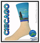 Men's Chicago Socks