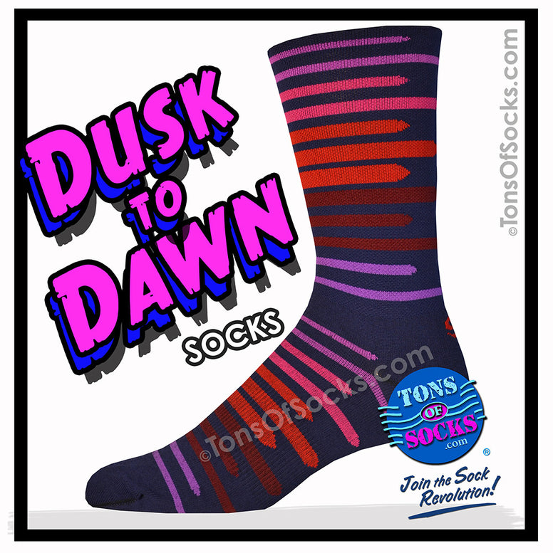CoolMax® Dusk to Dawn Performance Crew Socks