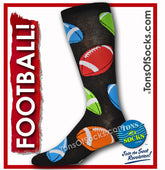Men's Football Socks (Multicolored)