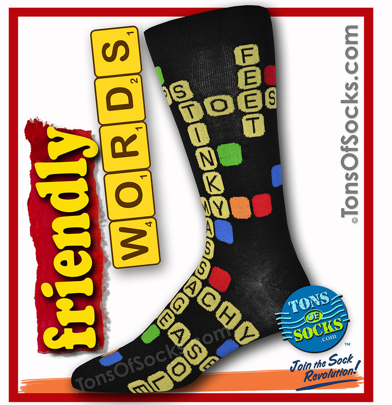 Men's Friendly Words Socks