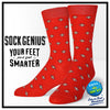 Men's Gardena Socks (Red)