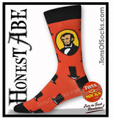 Men's Honest Abe Lincoln Socks