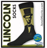 Men's Abraham Lincoln Socks (Olive)
