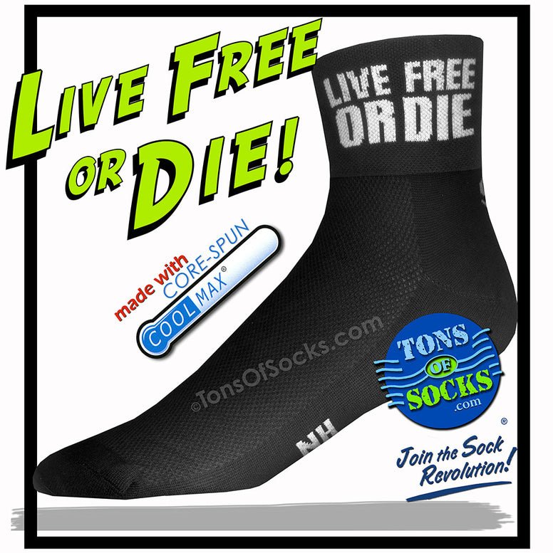 CoolMax® Live Free or Die Performance Socks