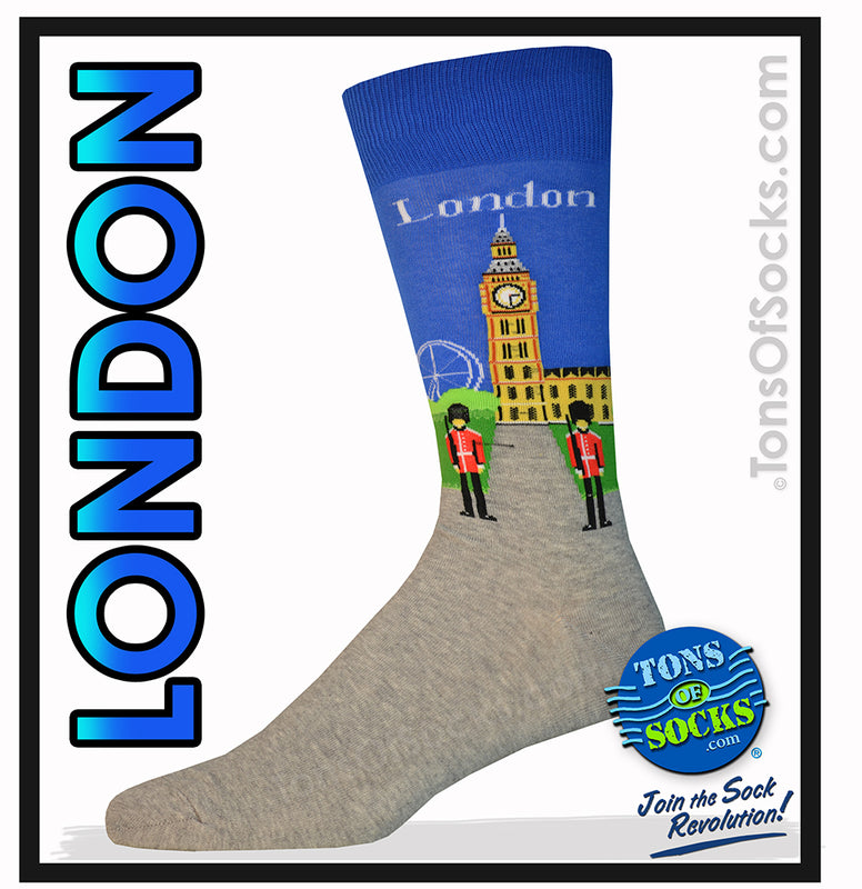 Men's London Socks (Big Ben)