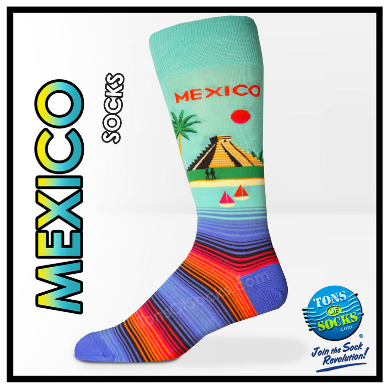 Men's Mexico Socks (NEW)
