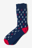 Men's Mini Anchors Novelty Socks (NEW)