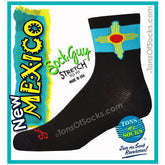 SockGuy New Mexico Flag Performance Socks