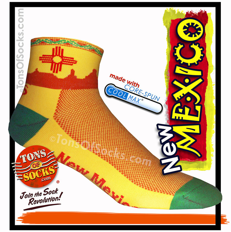 CoolMax® New Mexico Performance Socks (Yellow)