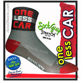 SockGuy One Less Car Performance Socks
